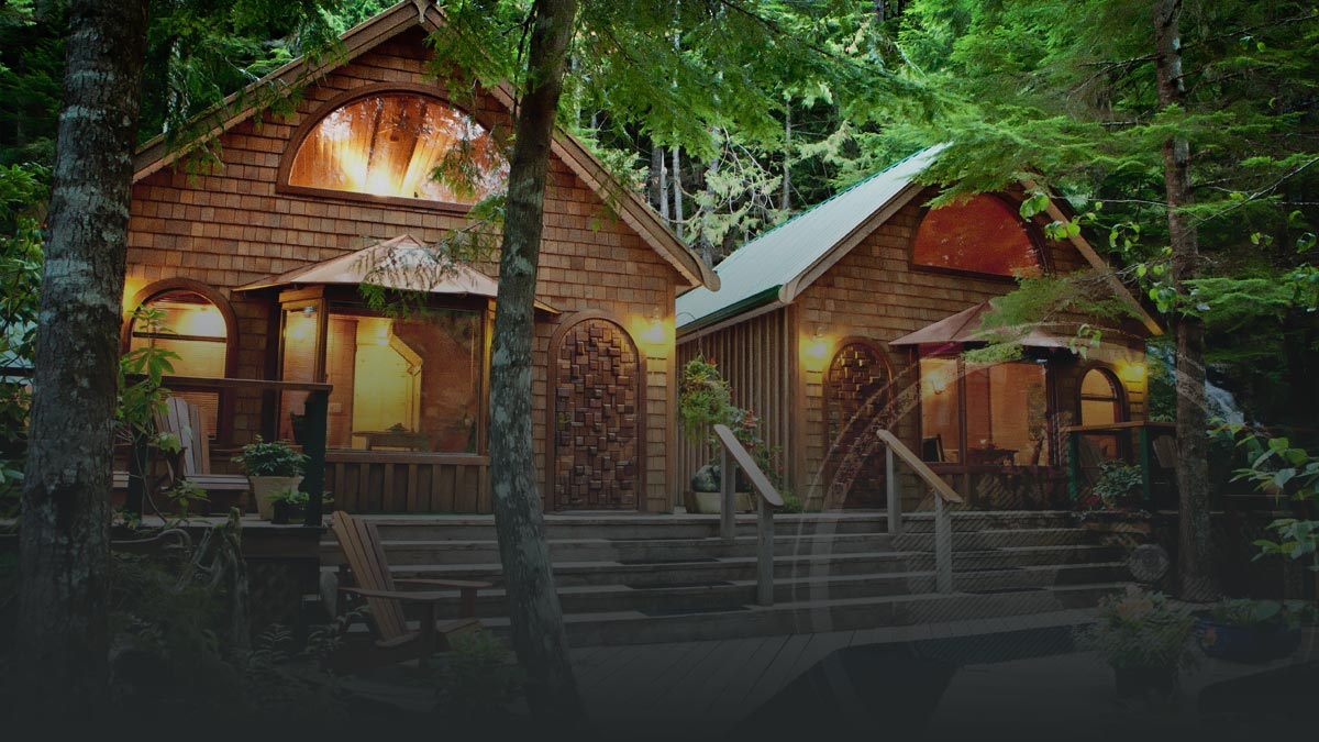 Pure Luxury in the Great Bear Rainforest Resort